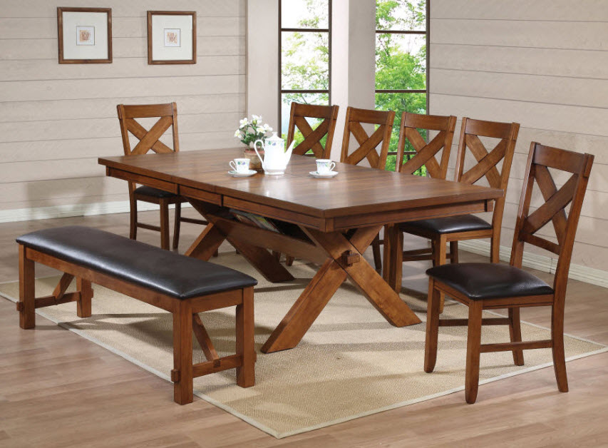 Apollo Walnut Dining Table