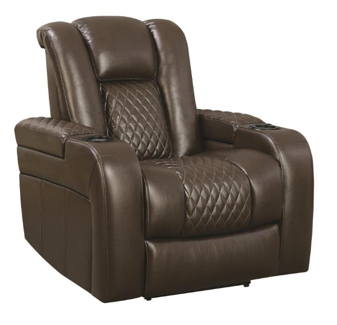 Dorian Power Recliner With Led Cupholder