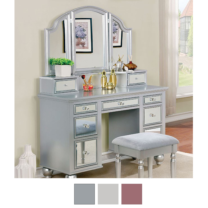 Tracy Makeup Vanity With Stool